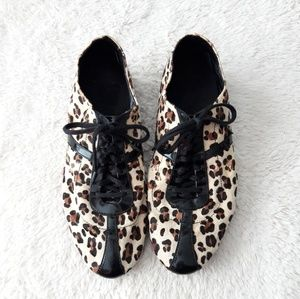Cole Haan Leopard & Patent Leather Sneakers
